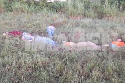 Hallan cinco cuerpos en la Tuxpan-Poza Rica