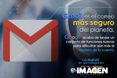 Gmail es el correo más seguro del planeta