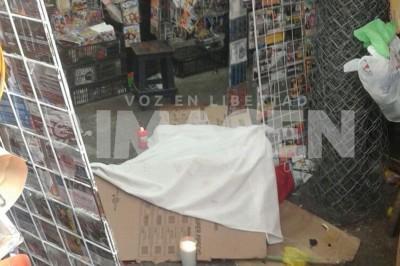 Asesinan a vendedor de discos