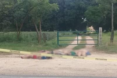 Encuentran seis cuerpos ejecutados en Loma Bonita, Oaxaca