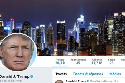 Trump: ¿Quién suspendió mi cuenta?