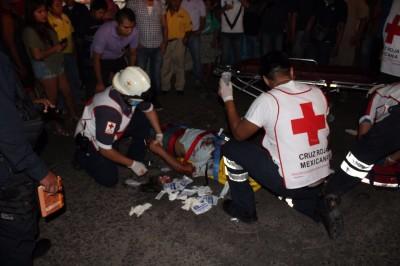 Muere en el hospital regional de Veracruz, joven motociclista que se accidentó en San Andrés Tuxtla