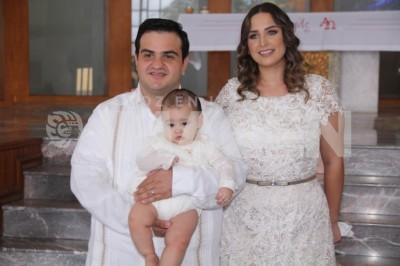 Ordenanza en cristo: Jorge Grappa Gutiérrez  recibe el sacramento del bautismo