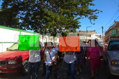 Aseguran Antorchistas que Yunes Linares no cumple con demandas sociales