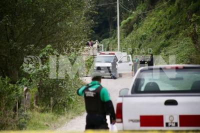 Abandonan cuerpos en San Andrés Tlalnehuayocan