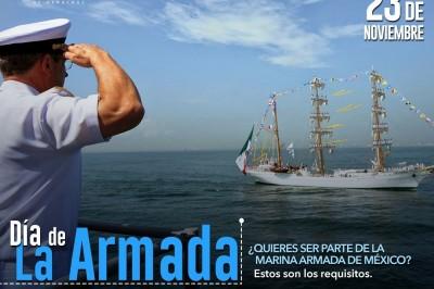 ¿Te gustaría ingresar a la Armada de México? Conoce los requisitos