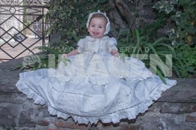 Mi primer sacramento:  Ainhoa Aldave Llarena fue bautizada en el Templo de Nuestra Señora de Guadalupe y Xonaca