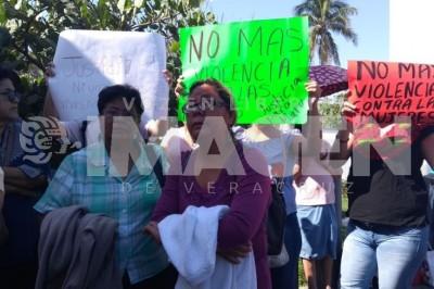 Exigen justicia por agresión a una mujer en Veracruz