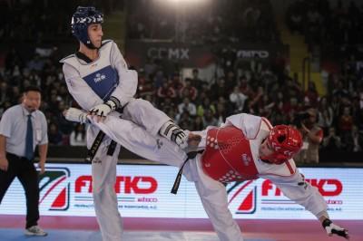 César Rodriguez, digno representante de México en Taekwondo