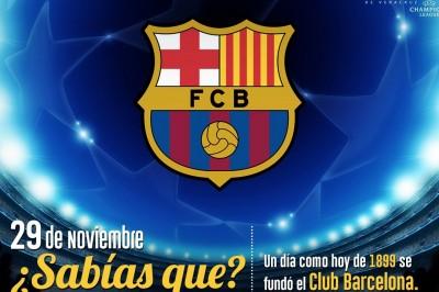 Recordamos la fundación del Fútbol Club Barcelona