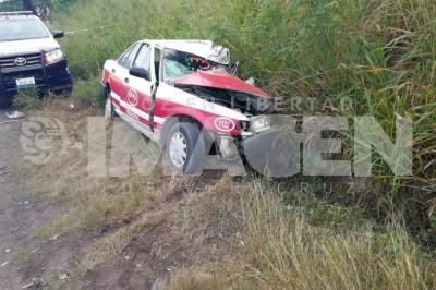 Muere taxista con su pasajero en Veracruz