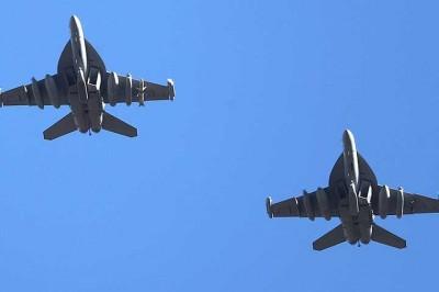 EU y Corea del Sur despliegan cientos de aviones de guerra