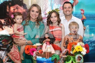 Al estilo Moana: Lourdes Deschamps Blanco cumple 6 años