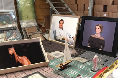 Obras de arte decomisadas a Karime Macías continúan en resguardo del IVEC