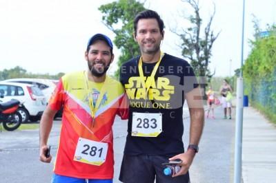 SPORT:  En la Primera Carrera Acuatic Race Inbursa