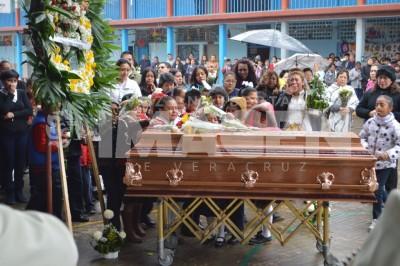 Dan último adiós al maestro Sinuhé del Valle, quien falleciera víctima de hechos violentos