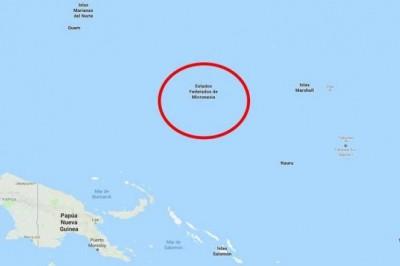 Dos terremotos de magnitud 6.5 y 6.4 sacuden Micronesia
