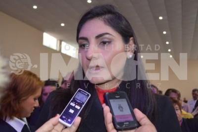 Lillián Zepahua García, espera que la Ley de Seguridad Interior pase en el Senado