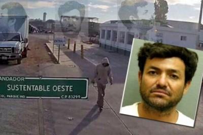 Reaprenden a Larry Chávez en EU, escapó del CERESO en Sonora