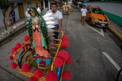 Así se celebra a la Virgen de Guadalupe en la capital
