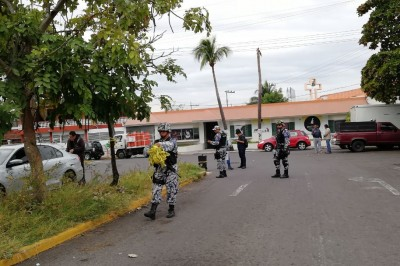 Balean a un empleado de gasera en calles de Veracruz