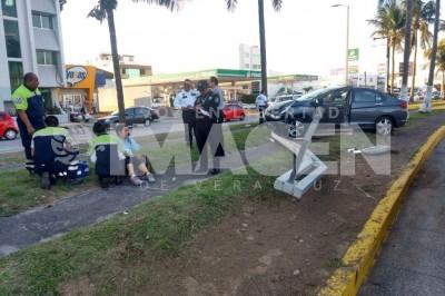 Accidente en Bulevar Adolfo Ruíz Cortínez