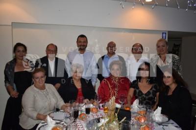 Cena decembrina: Sociedad Cultural Baluarte celebra cena navideña