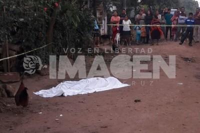 Delegado de transito de San Andrés Tuxtla mata a balazos a un hombre
