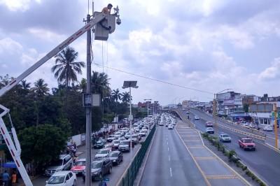 Suspenden concesión de alumbrado público en Poza Rica