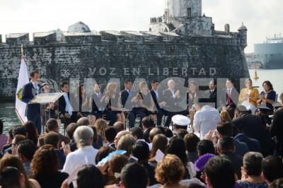 Rinde protesta Fernando Yunes Márquez como alcalde de Veracruz