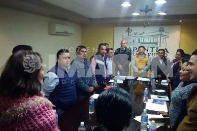 Reparten comisiones en Ayuntamiento de Papantla