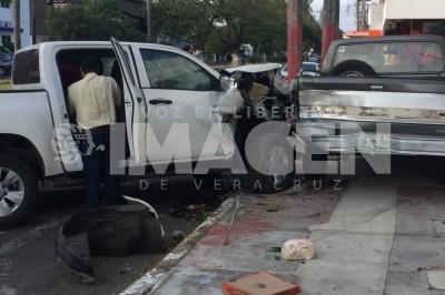 Accidente en el Fraccionamiento Reforma