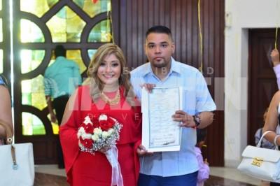 Enlace nupcial: Estefanía y Alejandro unen sus vidas