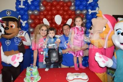 Festejo canino: Celebran a Alan Cerecedo Aillaud con divertida fiesta de Paw Patrol
