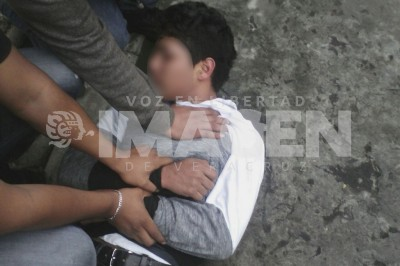 Presunto asaltante es detenido por vecinos de Las Hortalizas