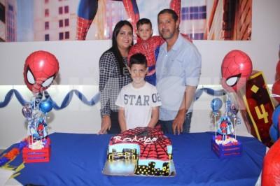 Súpercumpleaños: Rodrigo Cantarell García cumple cuatro años de vida