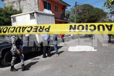 Le roban 40 mil pesos a carnicero y lo asesinan en Boca del Río