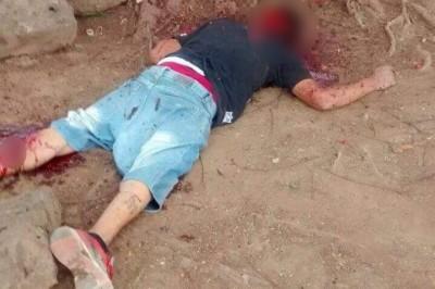 Hombre es encontrado muerto a machetazos