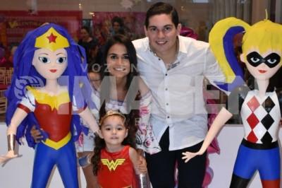 Fiesta de superheroínas: Valentina Cantú Nayen cumple cuatro años
