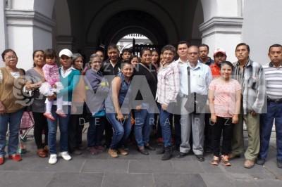 Fundadoras de Colonia Cardenista denuncian que gente del Ayuntamiento de Veracruz se hace pasar  por INMUVI para censar