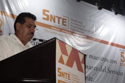 El secretario del SNTE, Mario Hernández Sánchez, rechazó que el 1 de julio se vaya a presentar el fenómeno del voto corporativo