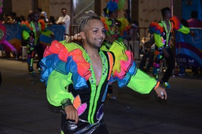 Se lleva a cabo el Primer Gran Desfile del Carnaval de Veracruz 2018