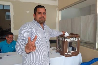 Panistas de Tuxpan realizan elección interna