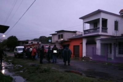 Muere mujer calcinada al interior de su casa en Carlos A. Carrillo, hay 1 persona detenida