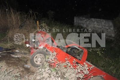 Choque de camionetas deja 3  heridos, sobre la carretera a Tierra Blanca