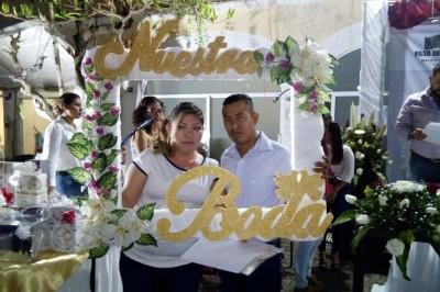 Unieron sus vidas 60 parejas en Paso de Ovejas
