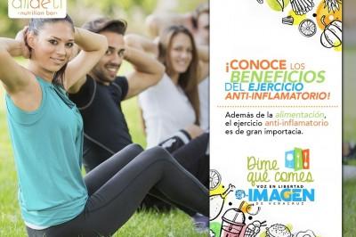 ¡Conoce los beneficios del ejercicio anti-inflamatorio!