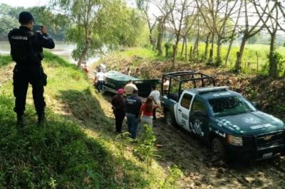 Se ahogan dos personas en el río Tesechoacan de Azueta