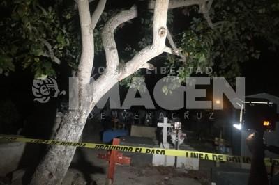 Feminicidio en cementerio de Poza Rica