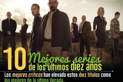 Las diez mejores series de los últimos diez años